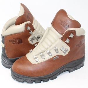 North Face Women's X2 Boots SZ 6.5 Leather Hiking